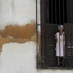 A smiling Cuban woman in Matanzas.