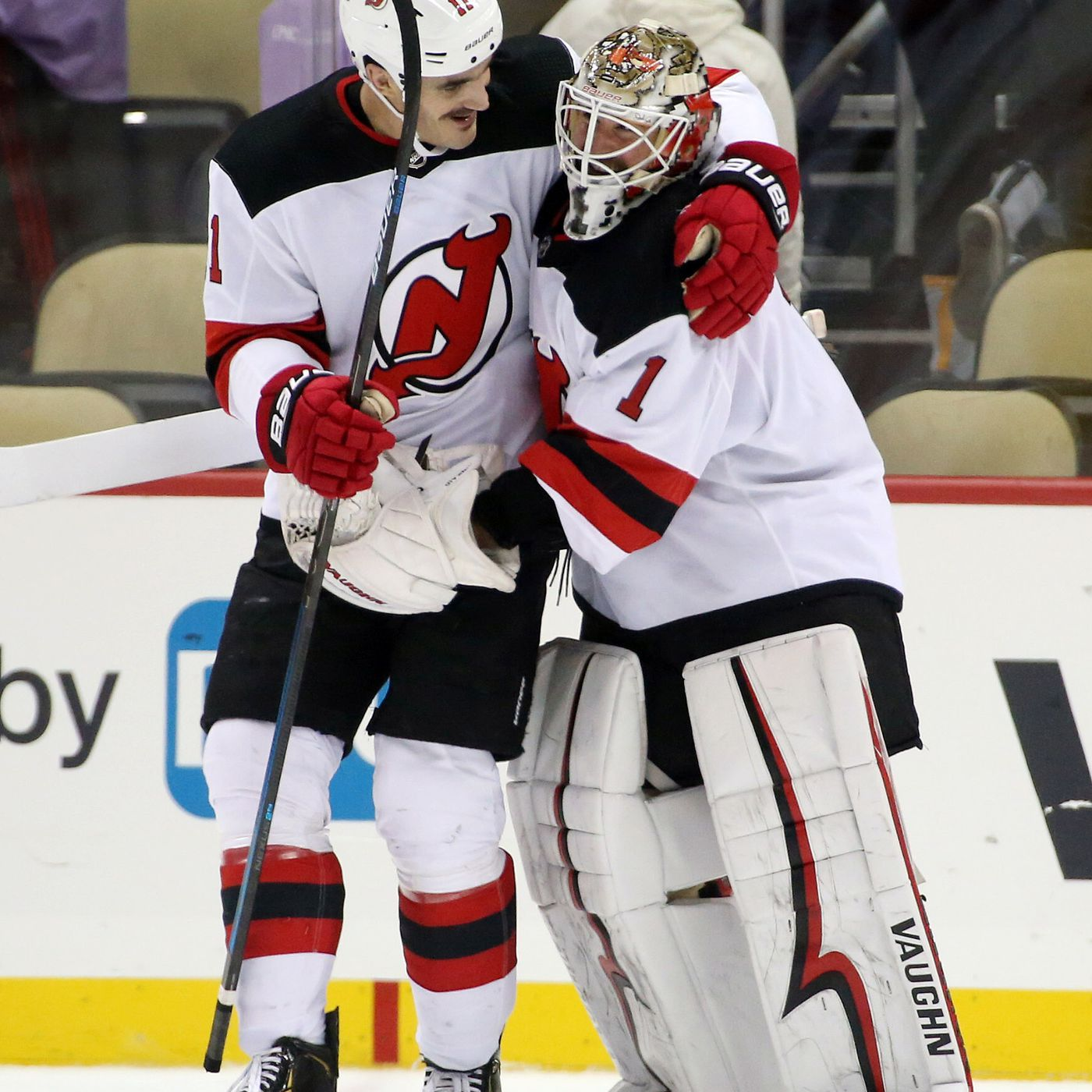 Brian Boyle s Natural Hat Trick Led New Jersey Devils Beatdown of  Pittsburgh Penguins - All About The Jersey 49f60e65f