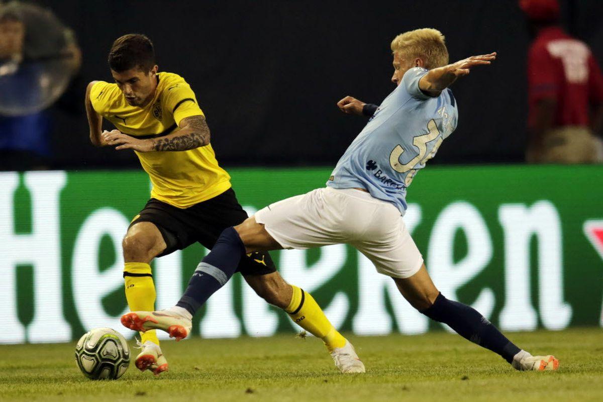 58de333c7 Christian Pulisic stands out in Borussia Dortmund win - Chicago Sun ...