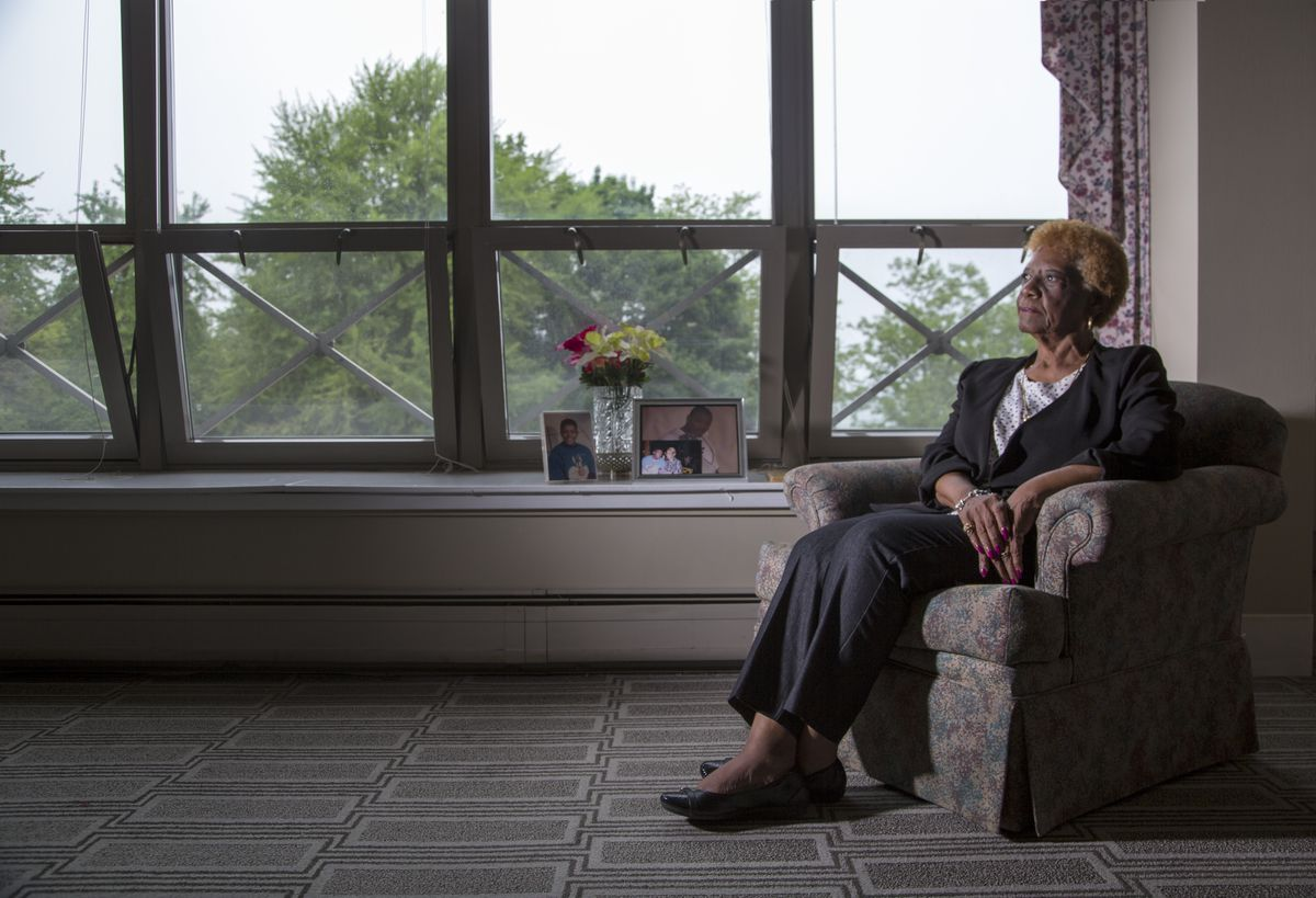 Barbara J. Alfred-Richardson, who lost her son, Donovan Bernard Richardson, to gun violence on April 23, 2008, is a member of The Sisterhood Action Support Group, a five-year-old nonprofit bringing together mothers who have lost children to gun violence, in advocacy efforts.