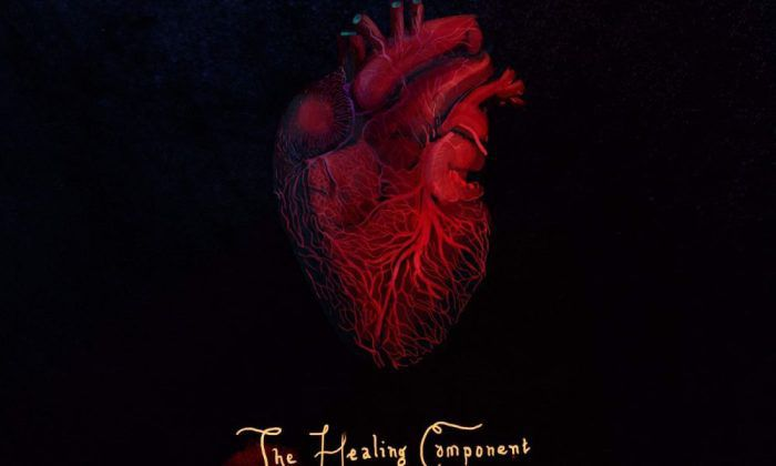 """Mick Jenkins, """"The Healing Component"""" cover"""
