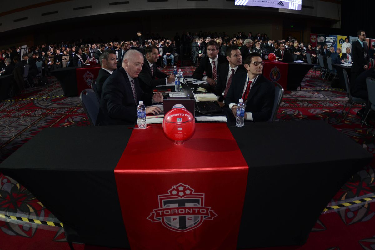 Back to the draft table of Tuesday just without all the glitz and glamour of last week