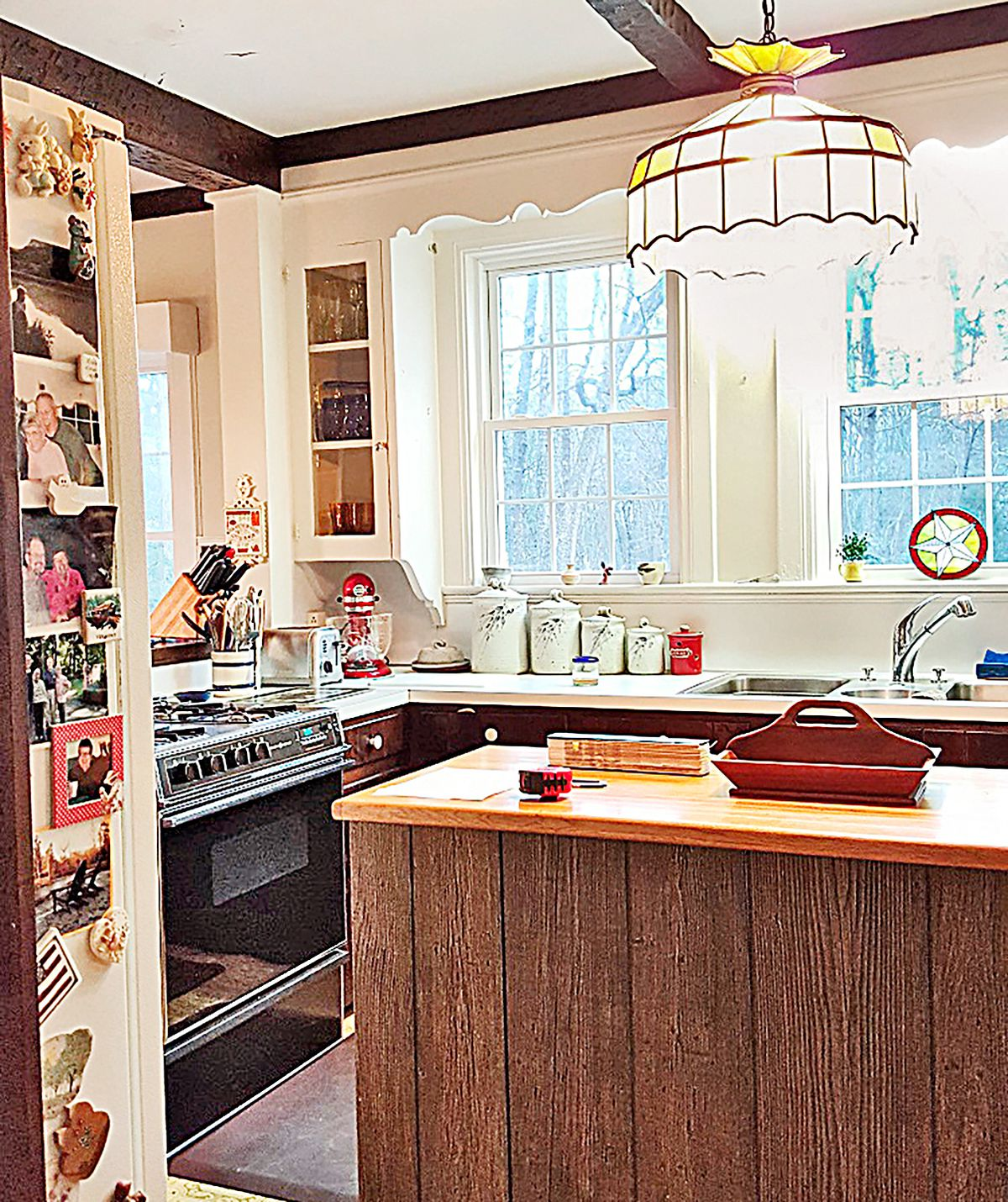 Kitchen Before And After Keeping The Charm This Old House