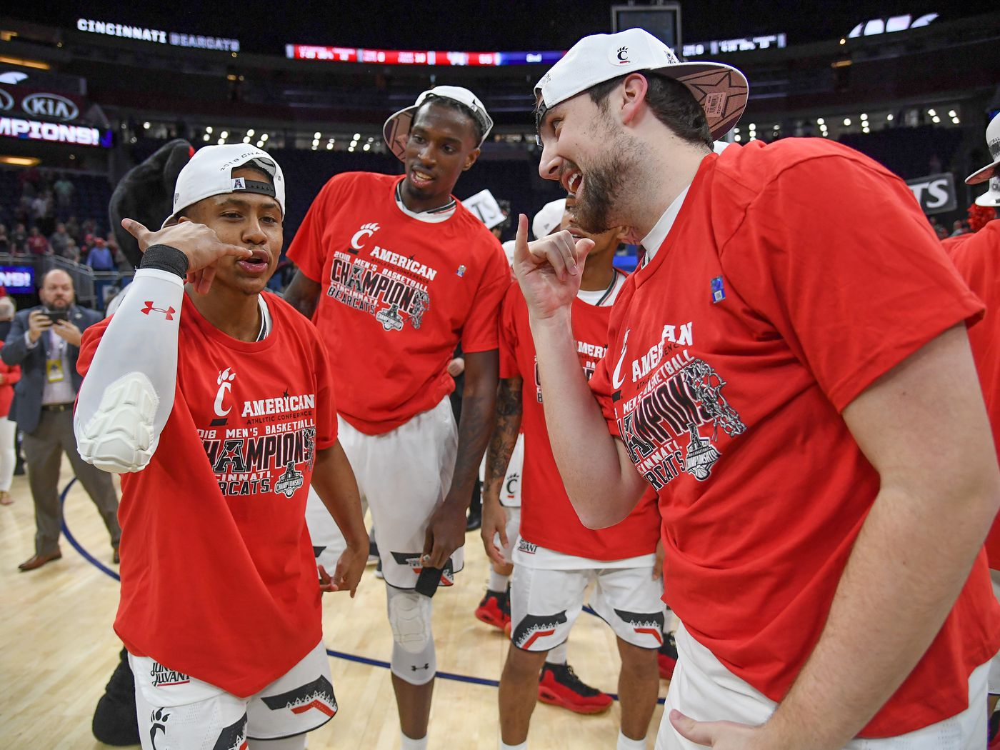 Jackson Bart Cincinnati Bearcats Basketball Jersey-Black