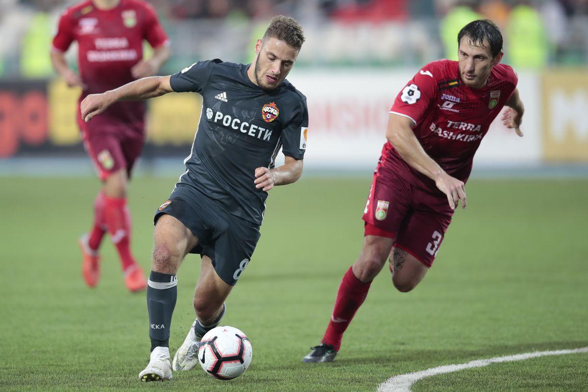 FC Ufa vs PFC CSKA Moscow - Russian Premier League