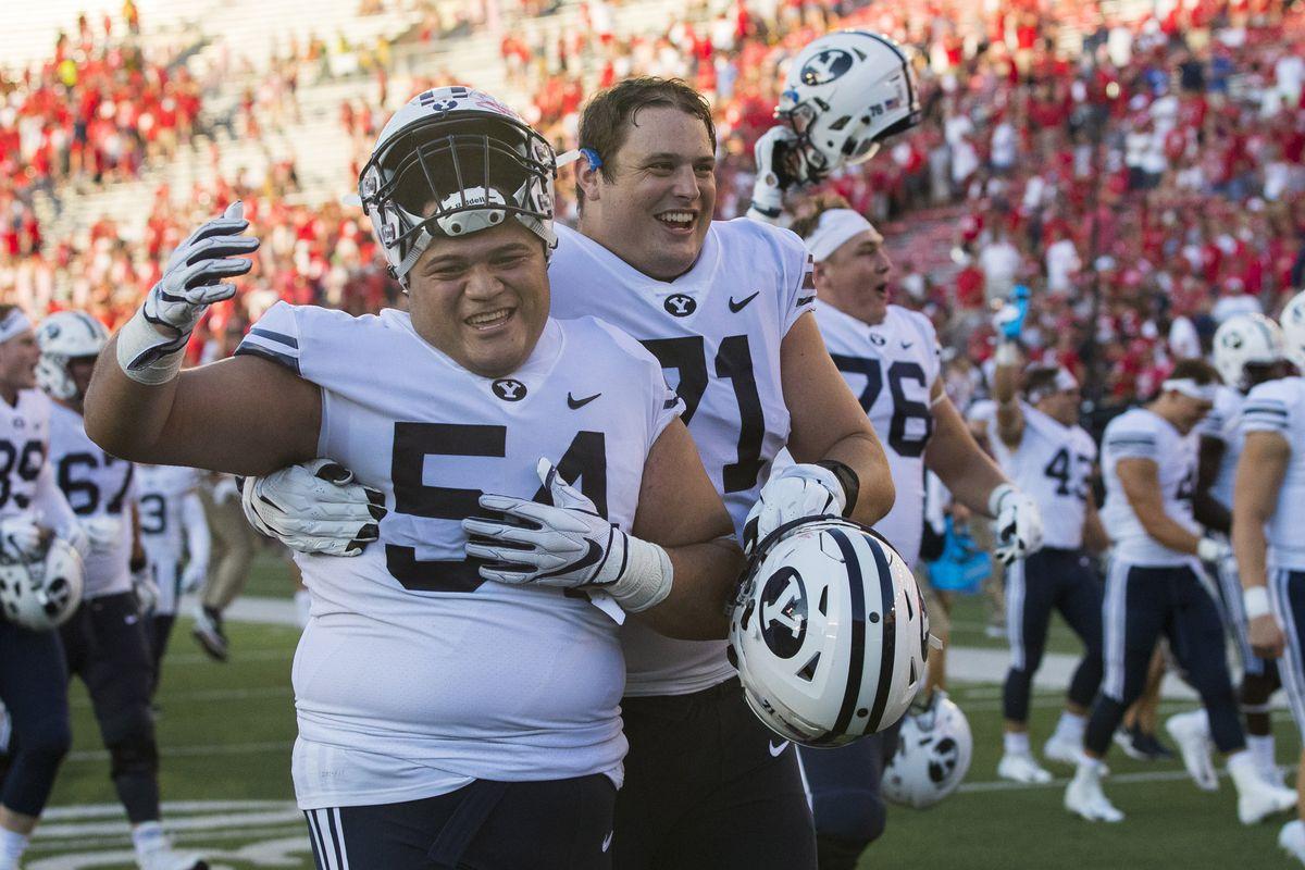NCAA Football: Brigham Young at Wisconsin