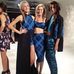 """""""I'll take the middie in the middle. @CallaParis knows how to make a print"""" - Olivia Lopez (<a href=""""http://instagram.com/p/eArXtfMDX0/""""target=""""_blank"""">@lustforlife</a>)"""