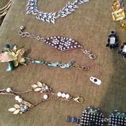 Bracelet (center), $30