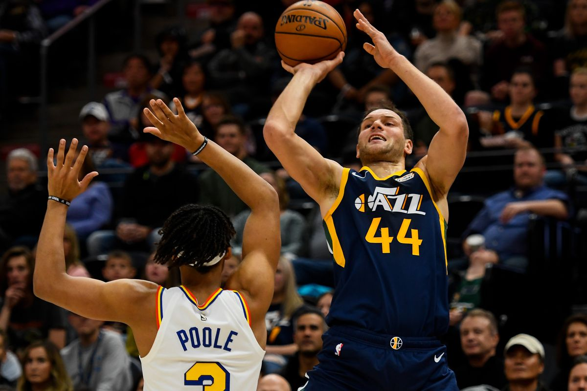 Final score: The Warriors fall in crunchtime to the Jazz, 114-106