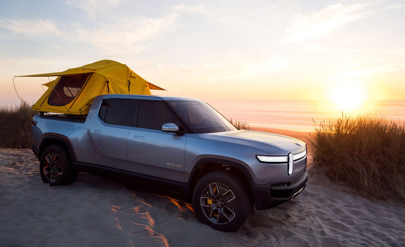 The all-electric Rivian R1T is a dream truck for adventurers - The Verge