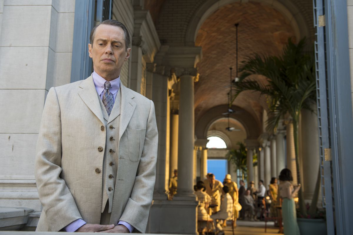 The final season of Boardwalk Empire moves Nucky Thompson (Steve Buscemi) to the forefront again.