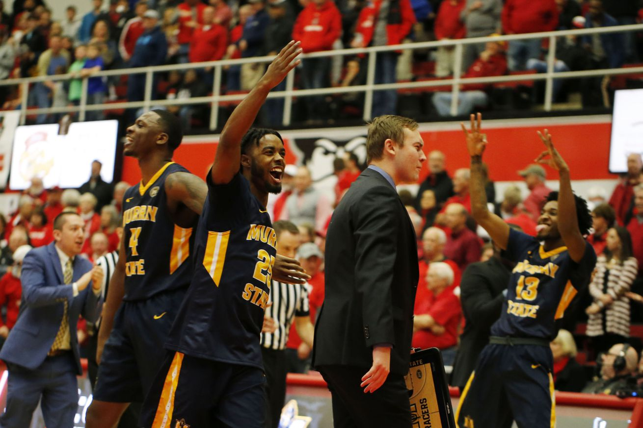 Murray State will hope to be celebrating an OVC title tonight, but Belmont stands in the Racers' way.