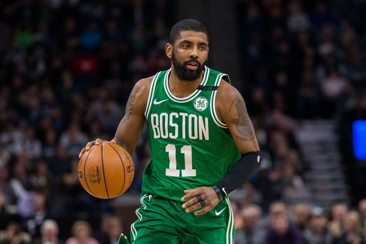 Kyrie On Celtics Wallpaper >> Jason Williams says Kyrie Irving has the best handle ever - CelticsBlog