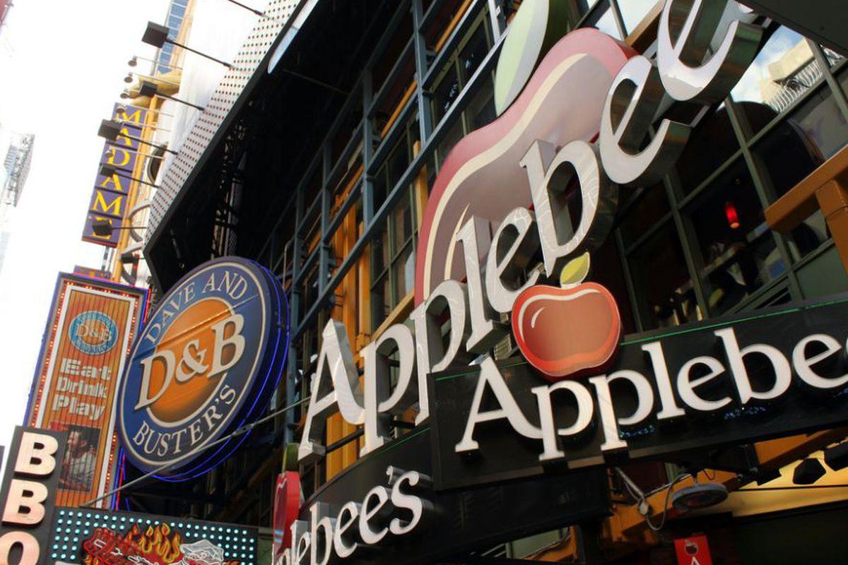 Applebee's Times Square.