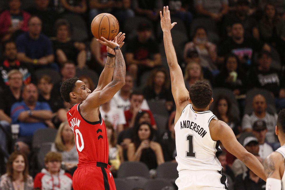 NBA-POP DeMar DeRozan//Raptors