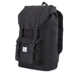 """<b>Herschel Backpack</b><br> He needs to carry around his laptop, tablet, phone, notebook, and probably 100 more things. So much stuff. This <b><a href=""""http://shop.herschelsupply.com/collections/backpacks/products/little-america-backpack-mid-volume-blac"""