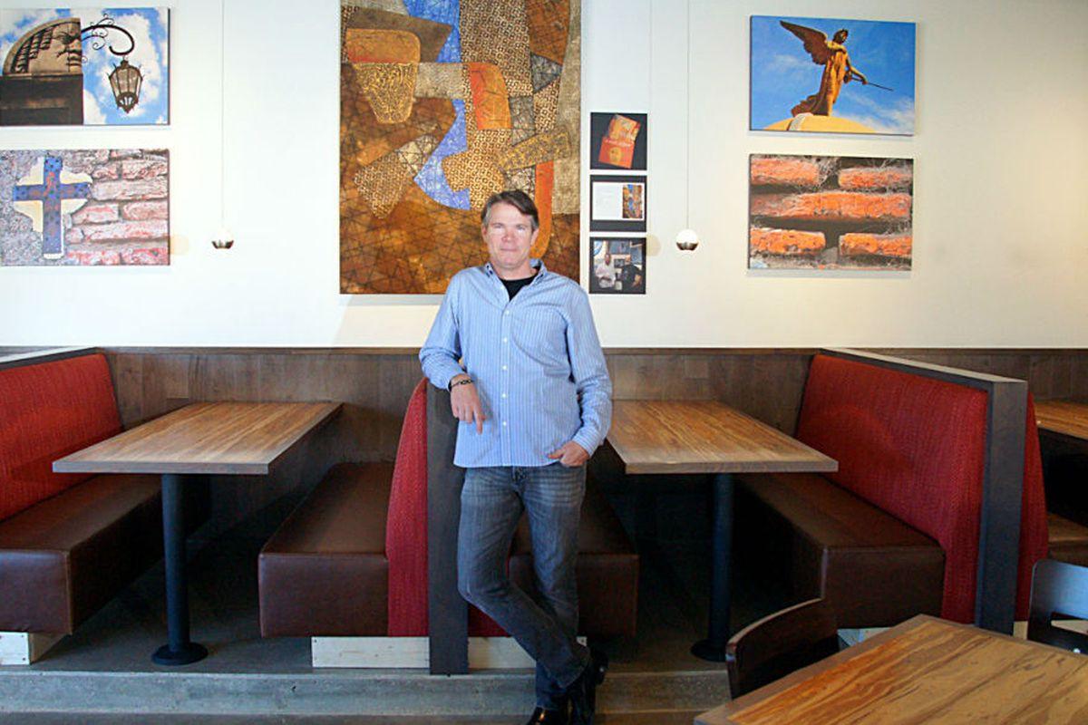 Owner Craig Collins at Nazca Kitchen.