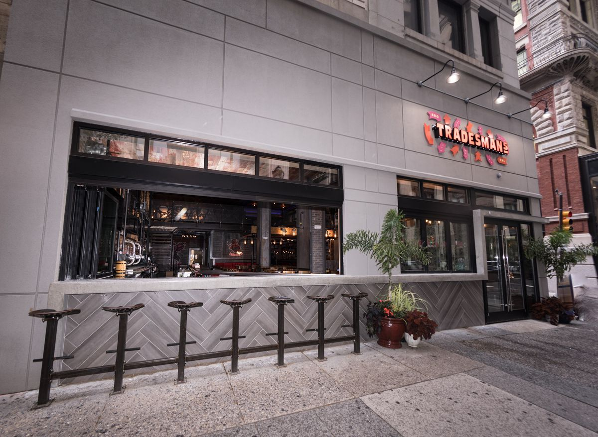 Tradesman S Opens This Week With Barbecue Beer And