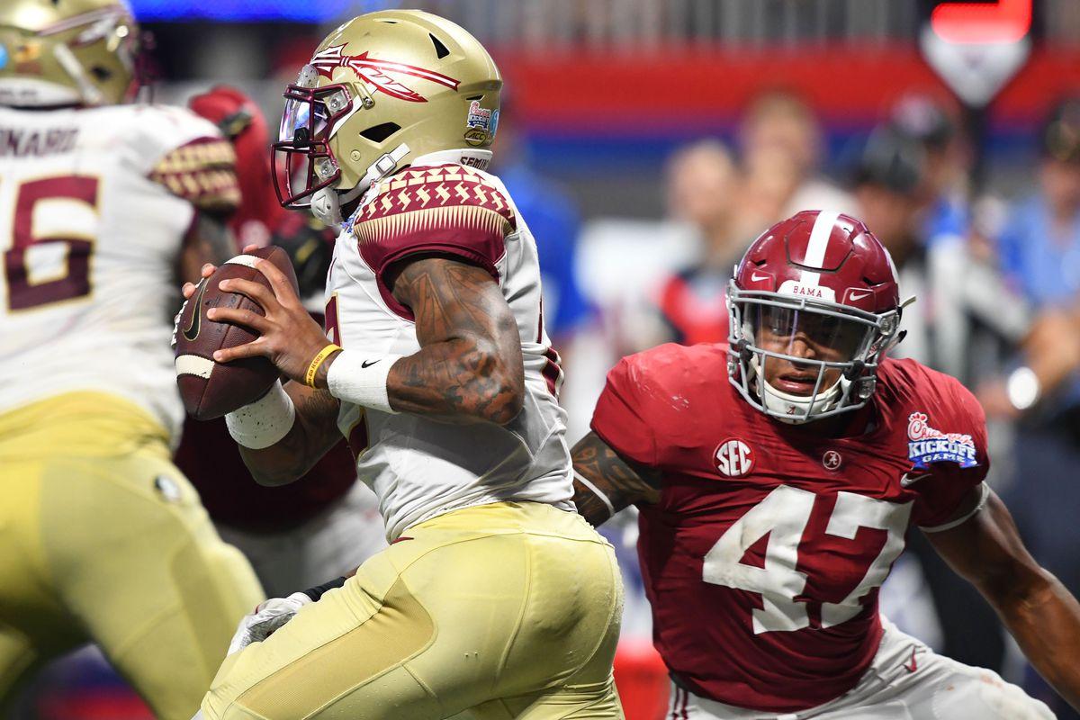 NCAA Football: Chick-fil-A Kickoff-Alabama vs Florida State