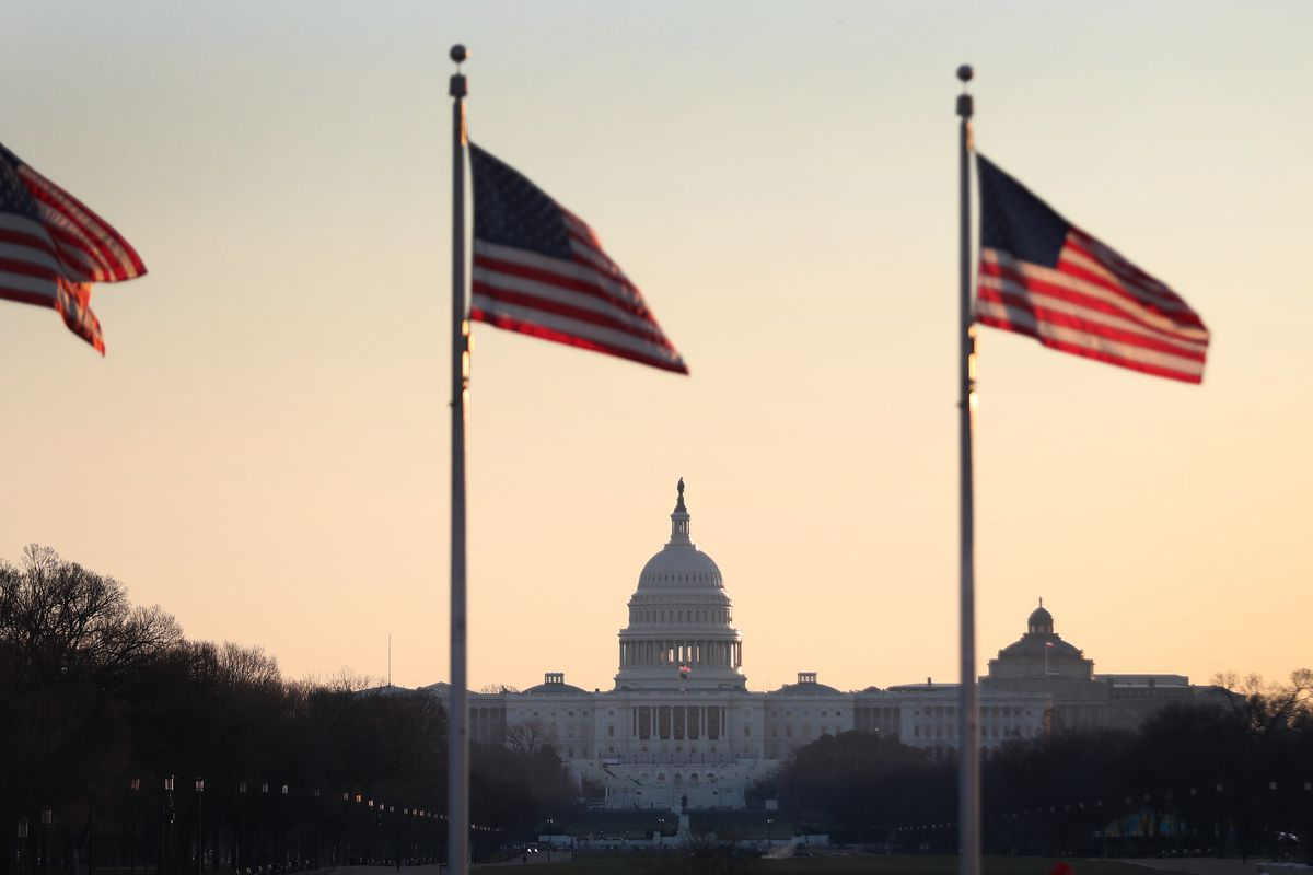 Washington DC Tense After U.S. Capitol Is Stormed By Rioters
