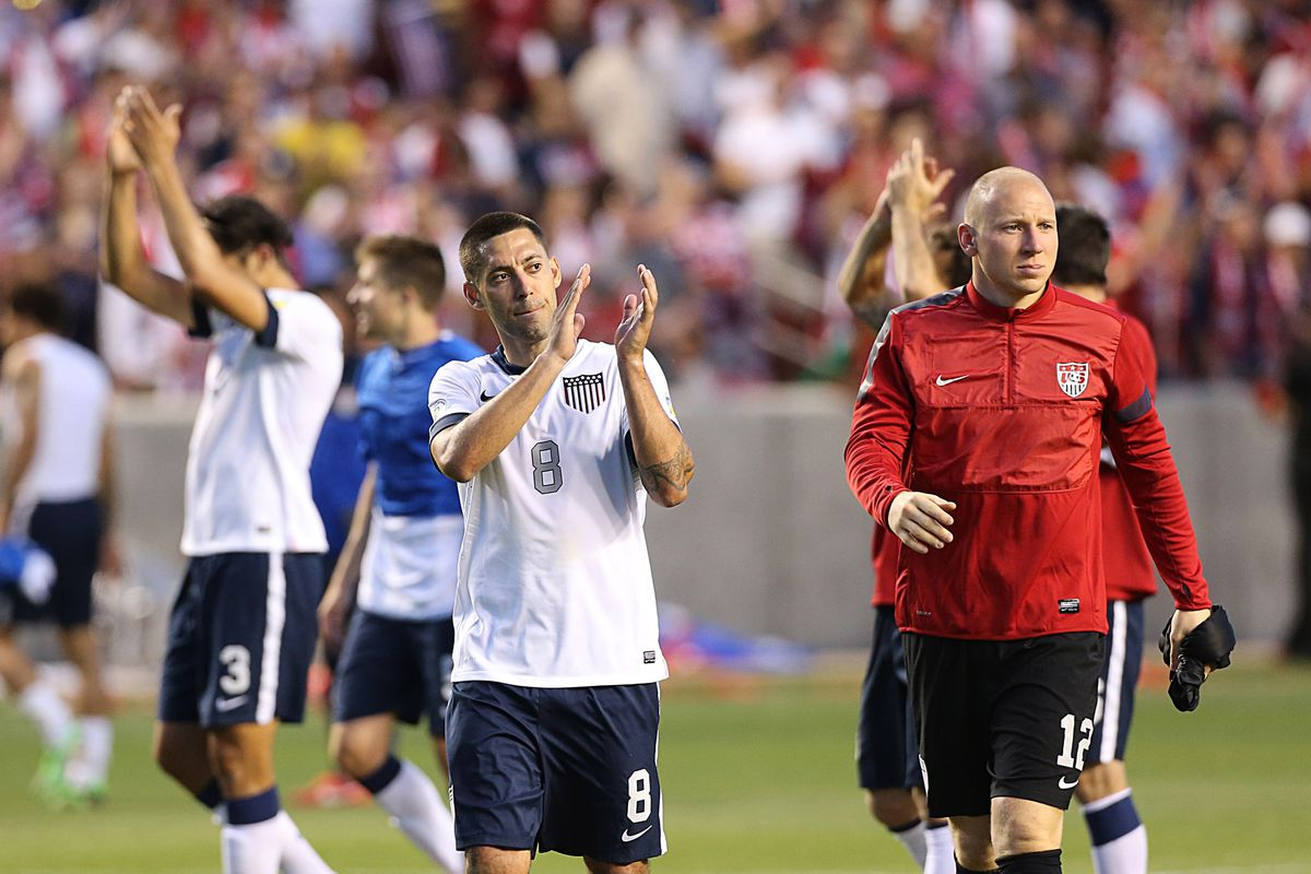 This is not from last night. But come on, put Guzan in goal for the World Cup.