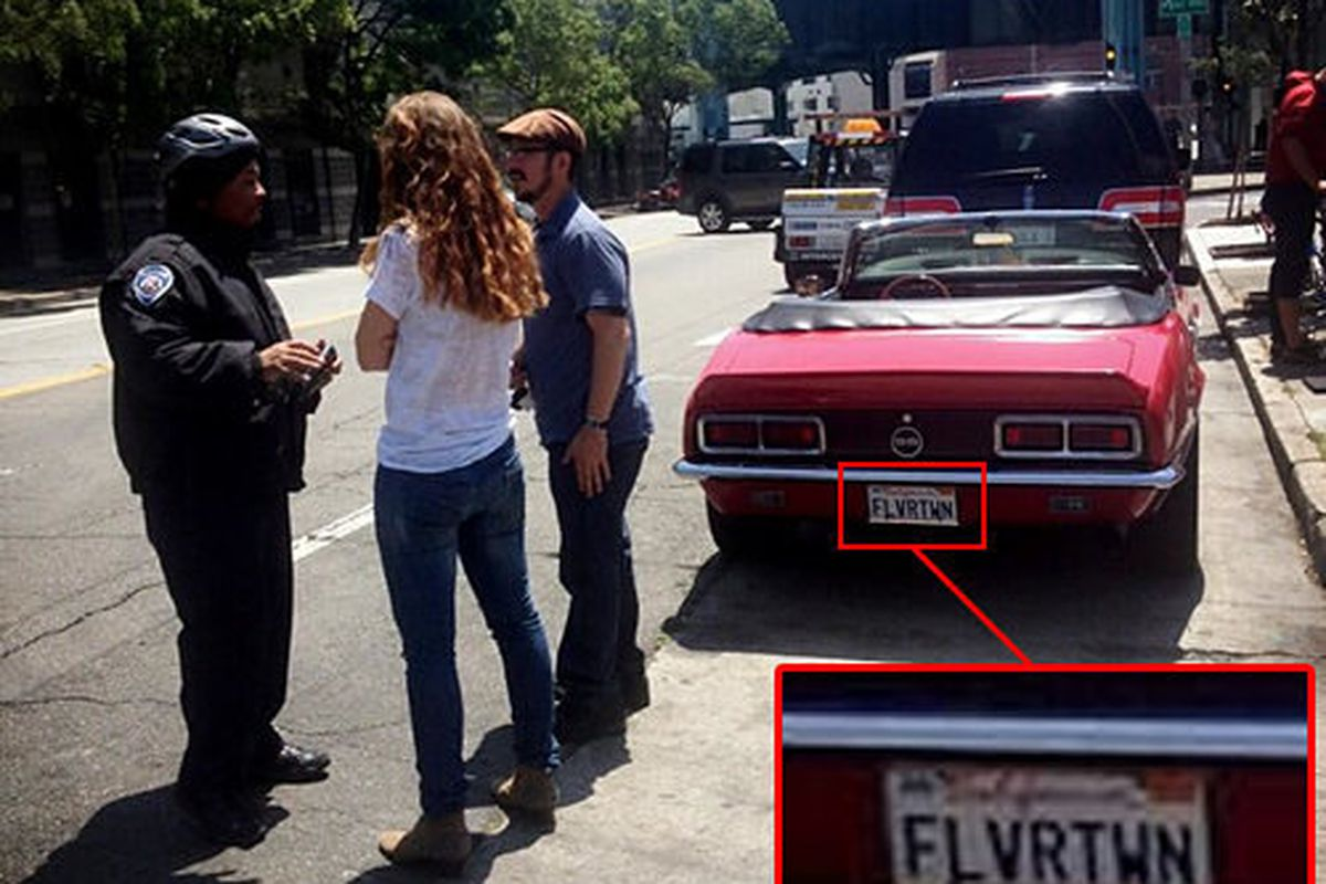 Guy Fieri's Camaro Gets a Parking Ticket Shooting in SF - Eater