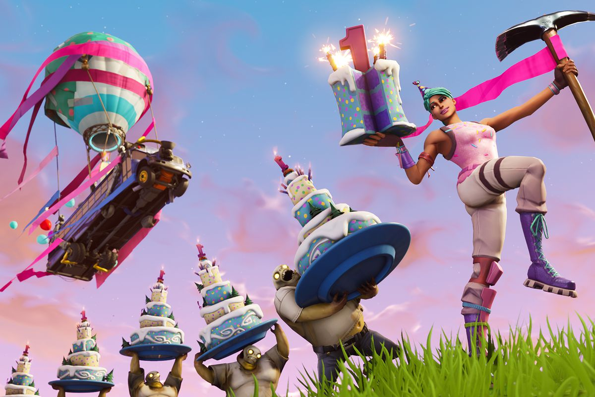 Epic Is Celebrating Fortnite S One Year Anniversary With New