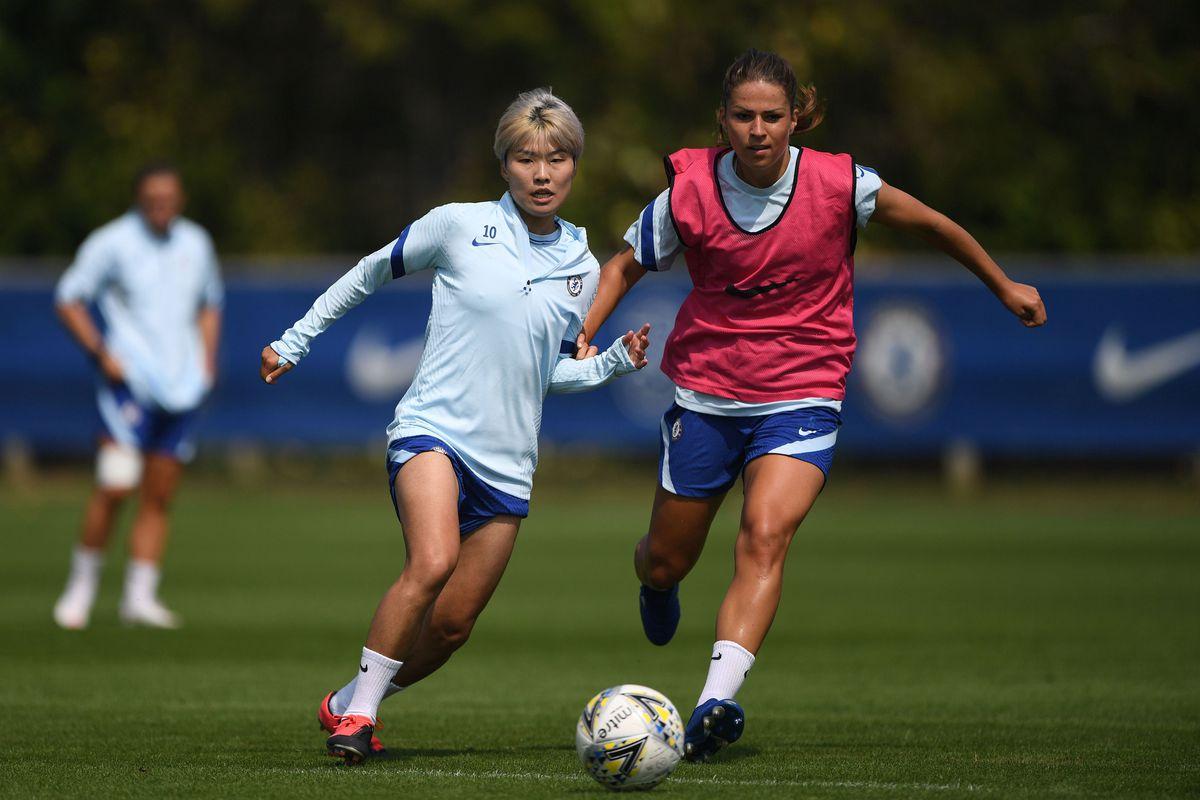 Chelsea Women Training