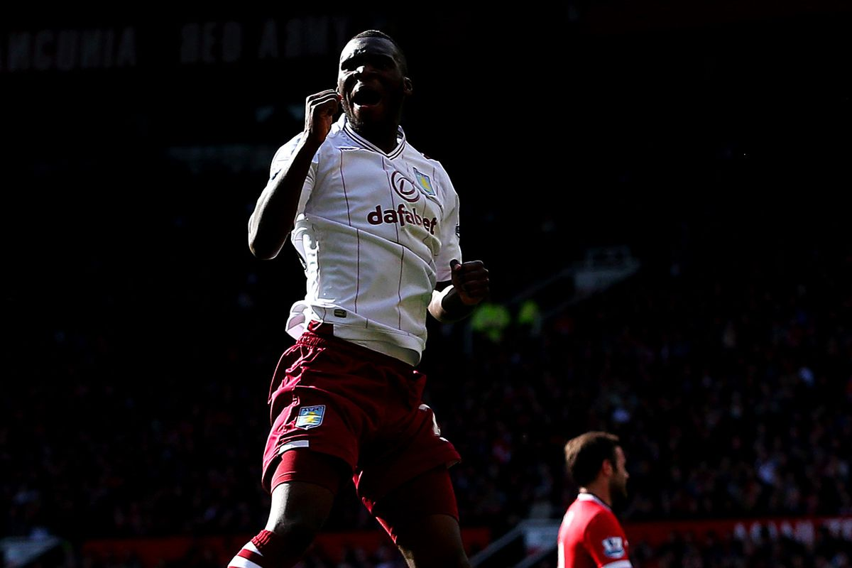 Christian Benteke scored his fourth goal in his last four league games.