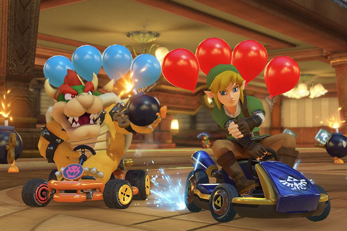 Mario Kart 8 S Smart Steering Allowed A Child Who Suffered A