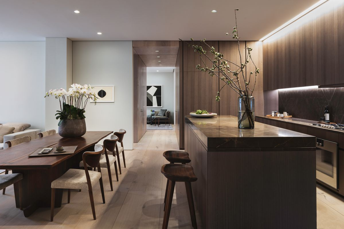 Tadao ando s nolita condo unveils a subtly luxurious model for New york condo interior design