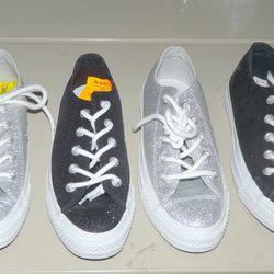 Glitter Converse, $70