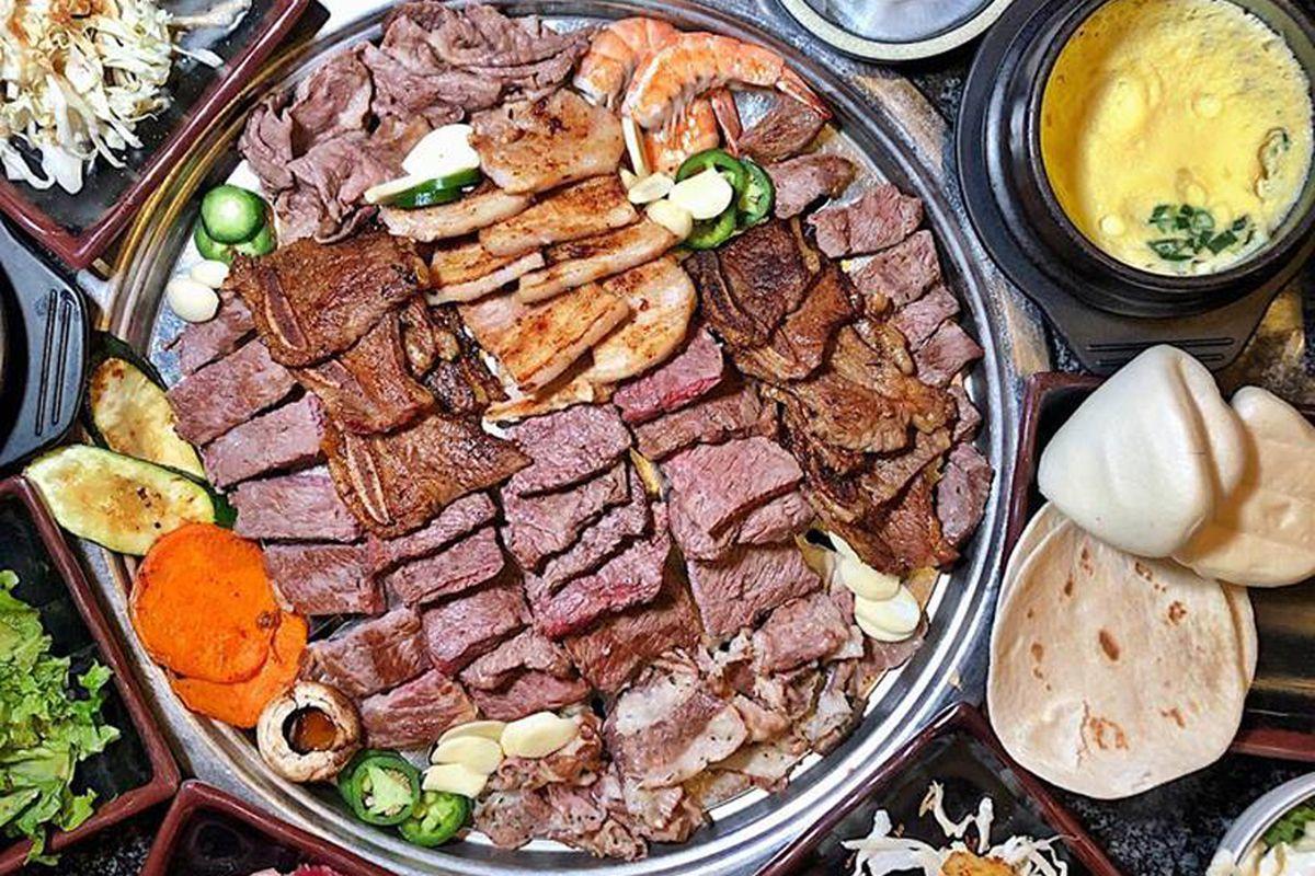 Jjanga Expands With Hanu Korean Bbq Eater Vegas