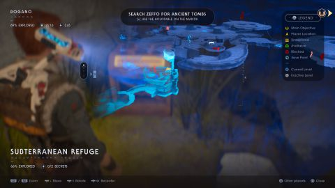 Bogano chests and secrets map locations – Star Wars Jedi