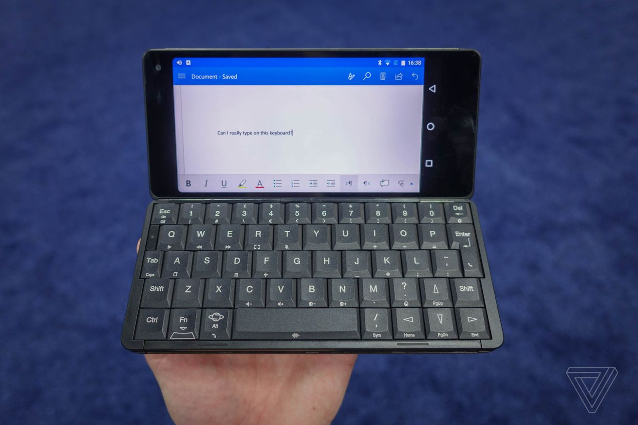 planet computers gemini is a tiny android laptop with the spirit of psion
