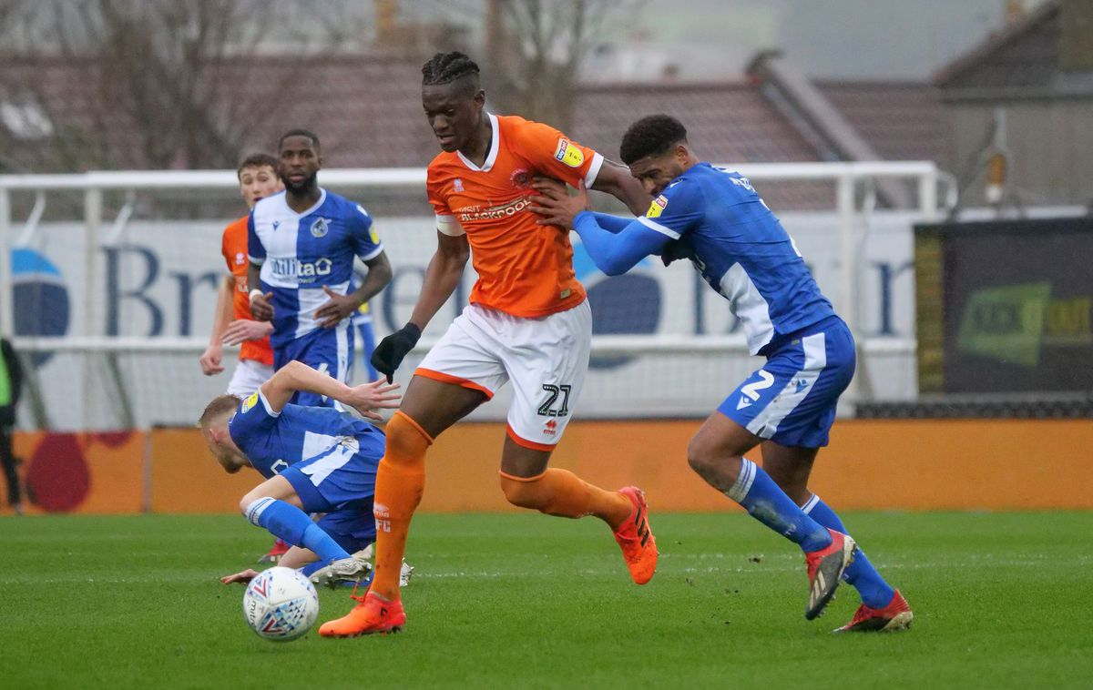 Bristol Rovers v Blackpool - Sky Bet League One