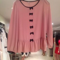 Vintage chiffon top by The Rose, $35