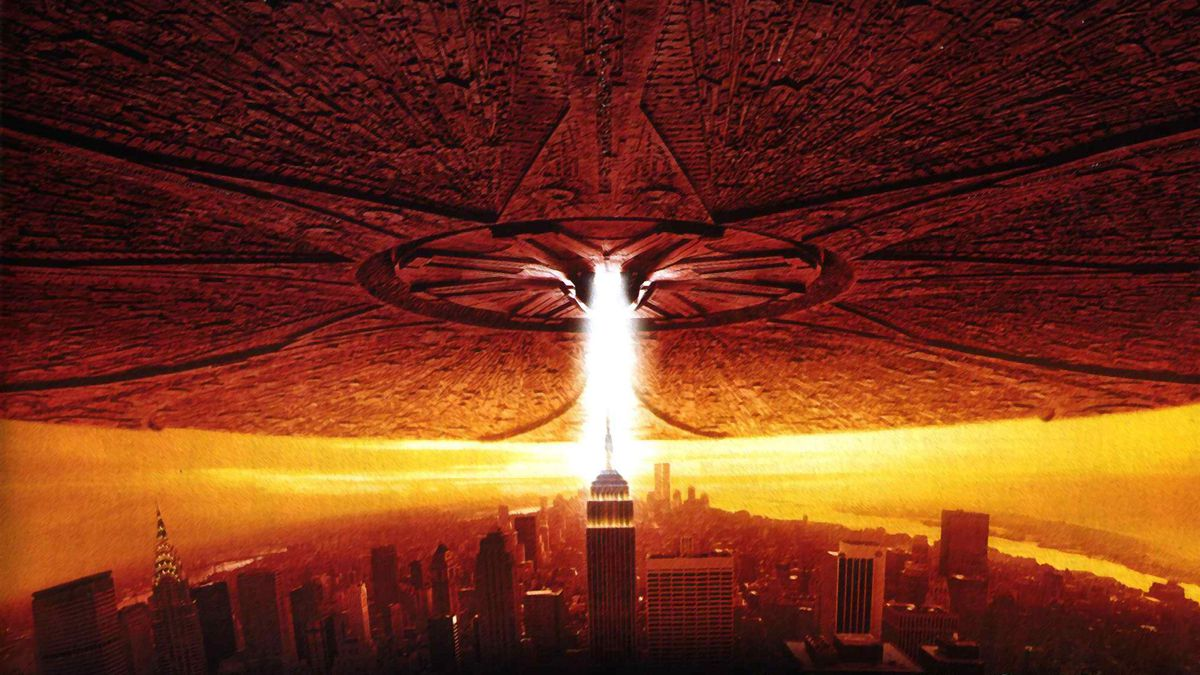 A scene from Independence Day (1996).