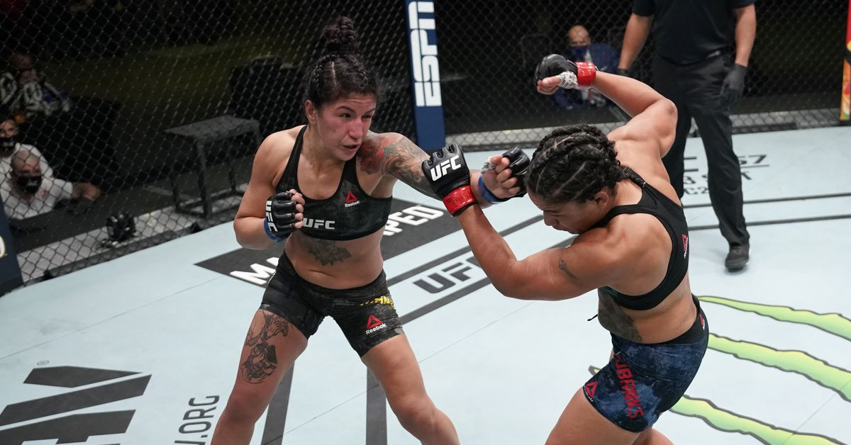 Pannie Kianzad vs. Alexis Davis announced for UFC 263