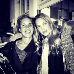 """The one and only Isabel Marant, left. [Photo by @inspiremi/<a href=""""http://instagram.com/p/fUkWH5TKjL/"""">Instagram</a>]"""
