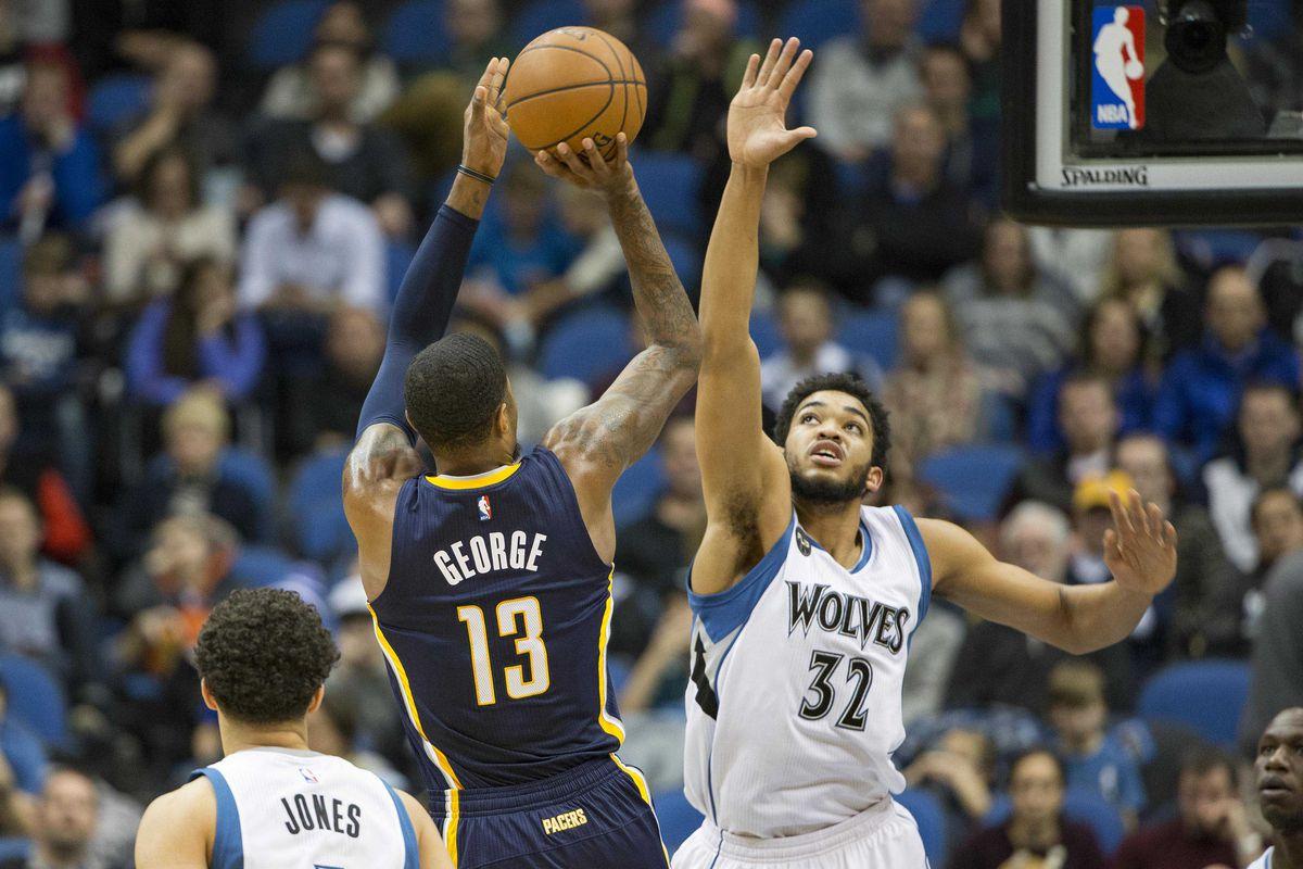 NBA: Indiana Pacers at Minnesota Timberwolves