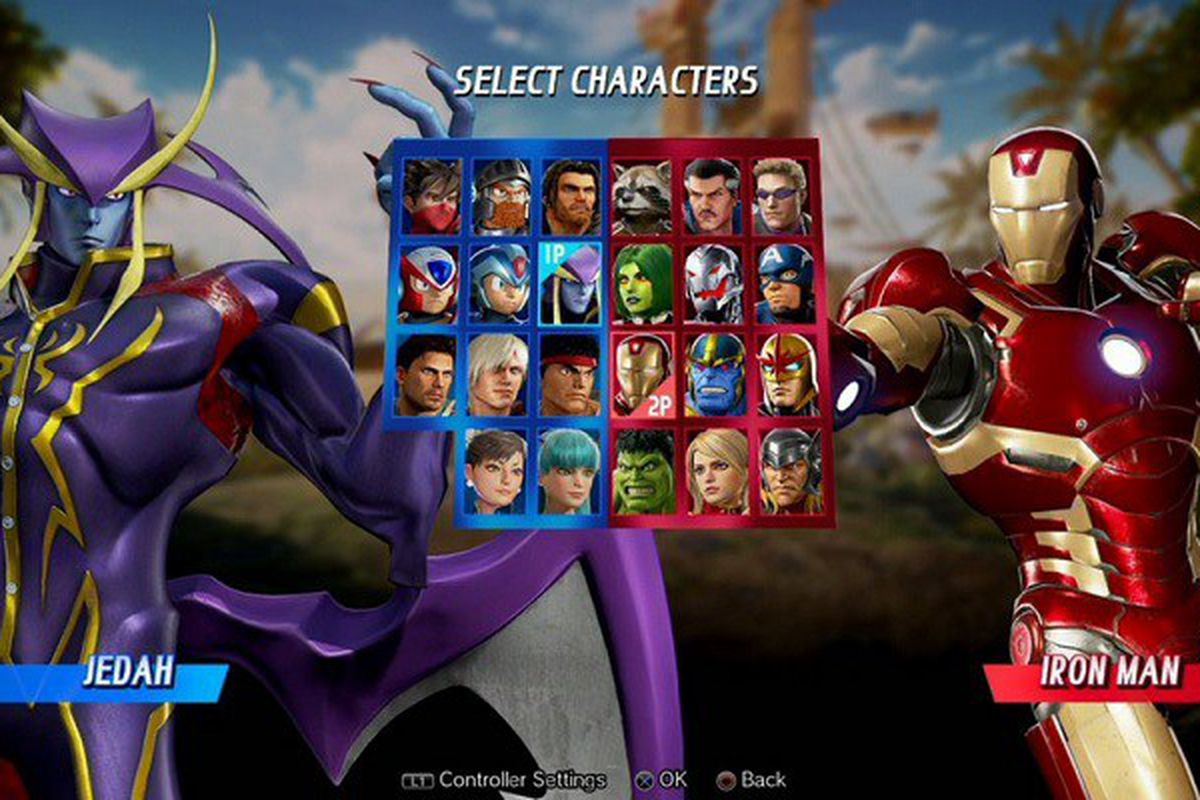 Marvel Vs Capcom: Infinite Roster Revealed