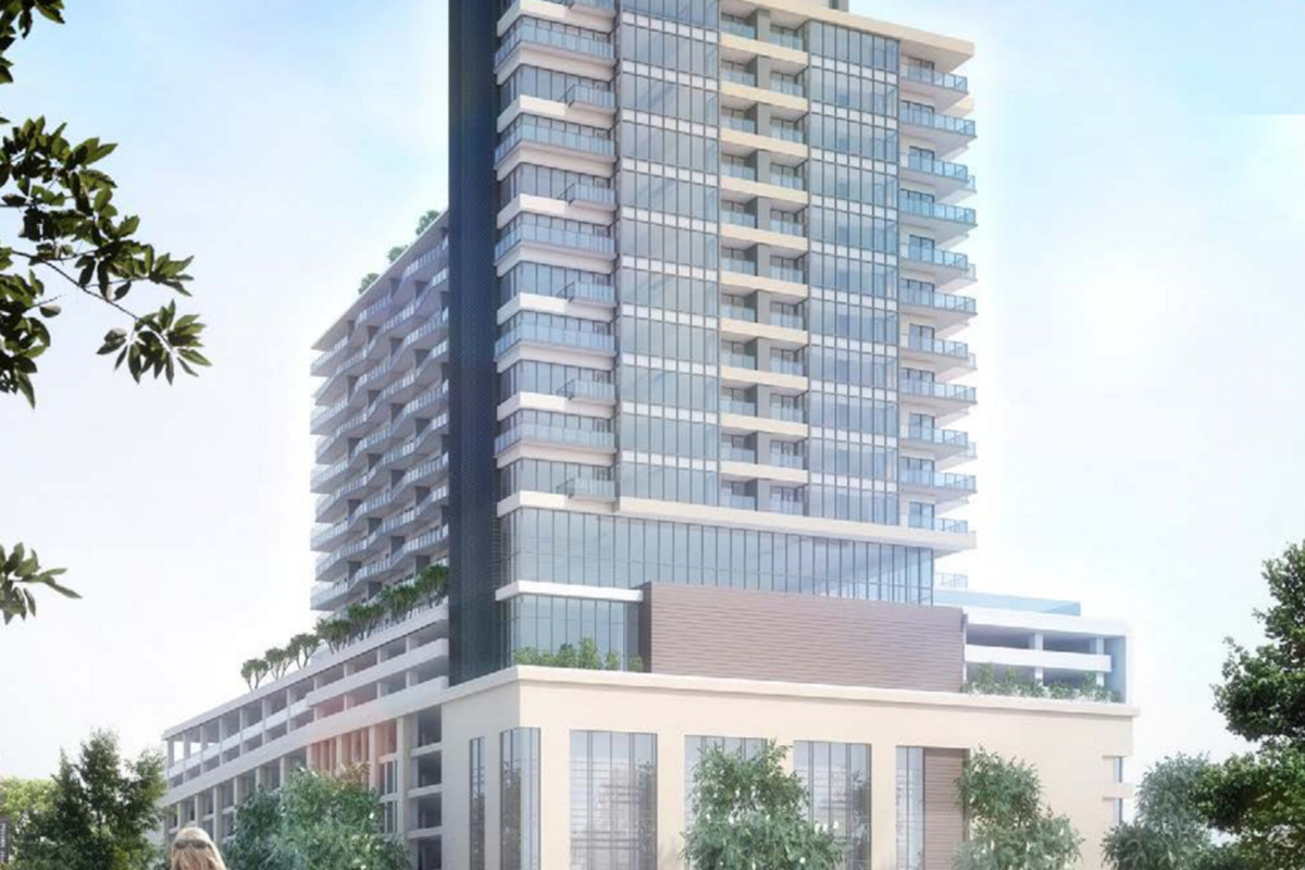 Downtown to get new apartment tower atop parking deck - Curbed Atlanta