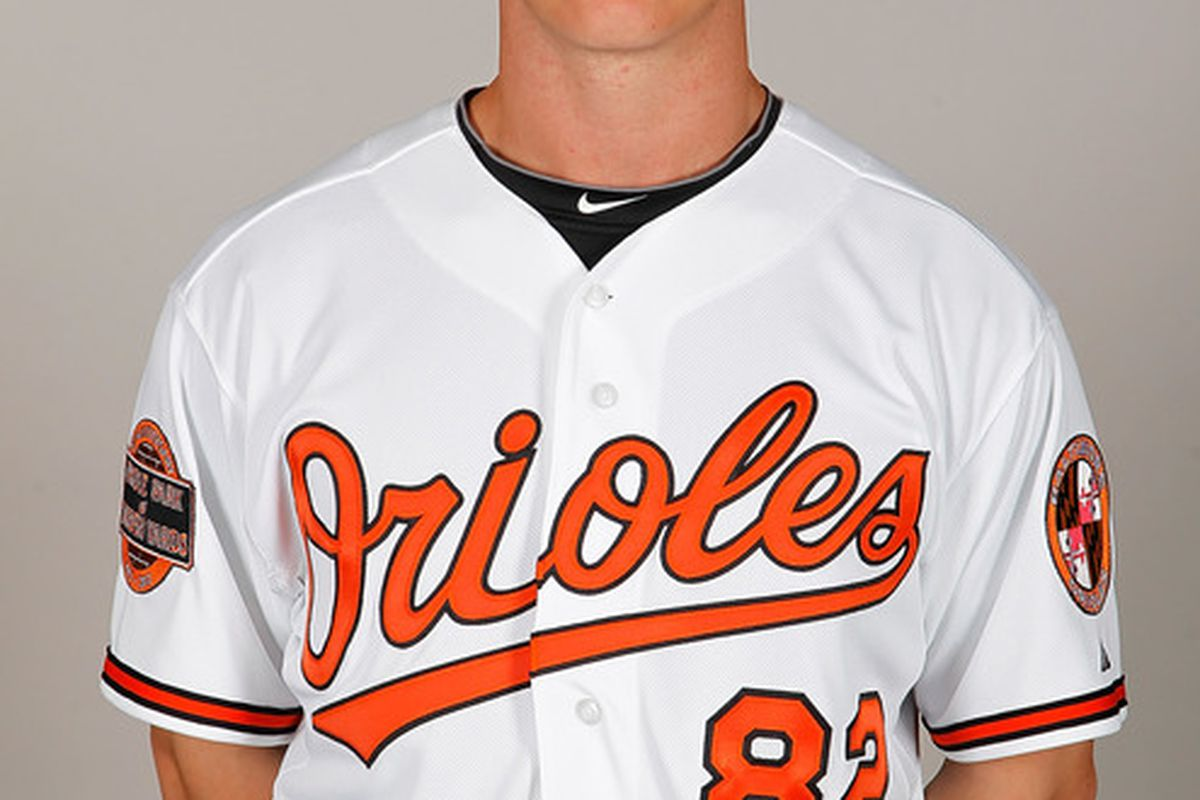SARASOTA, FL - MARCH 01:  Pitcher Dylan Bundy #82 of the Baltimore Orioles poses for a photo during photo day at Ed Smith Stadium on March 1, 2011 in Sarasota, Florida.  (Photo by J. Meric/Getty Images)