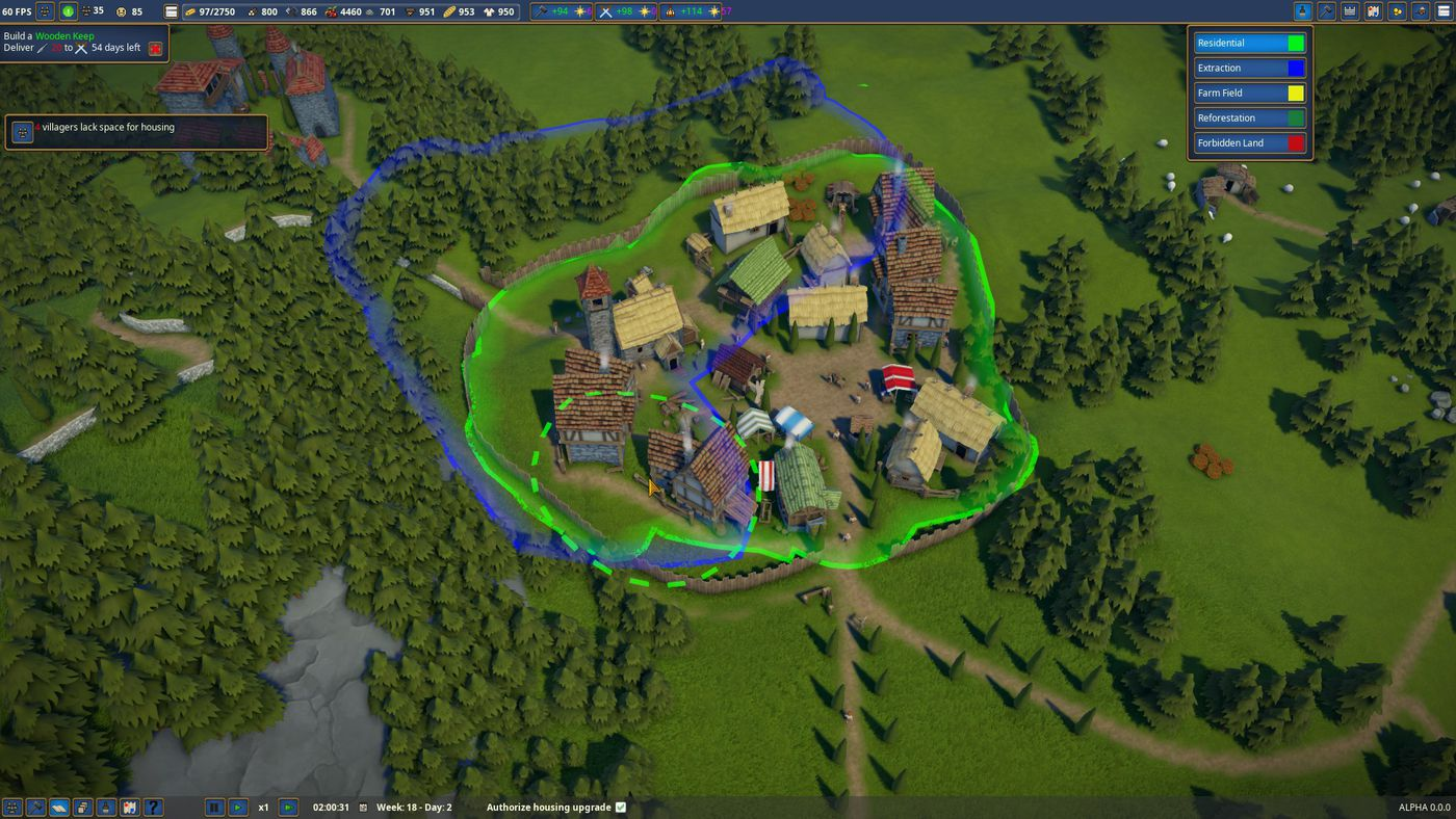 Foundation Polymorph Games medieval city-builder foundation is a welcome escape from
