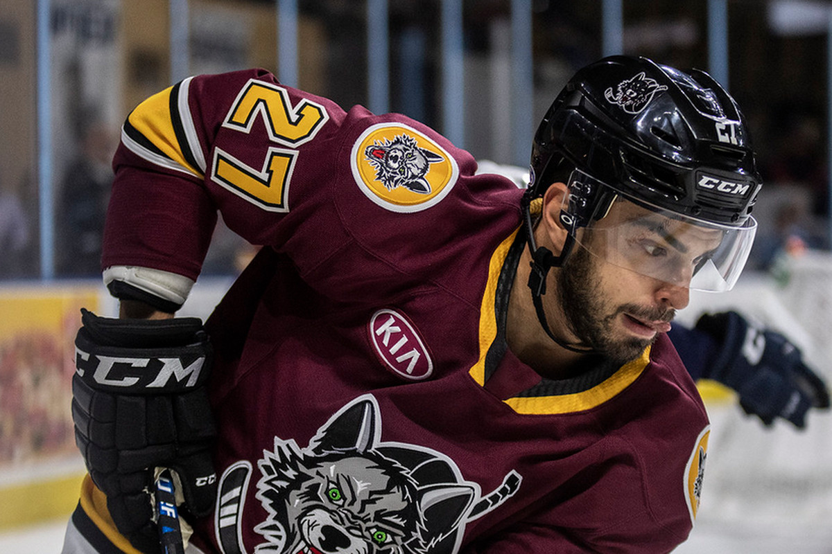 Wolves strike first but can't hold lead in 4-1 loss to host Admirals