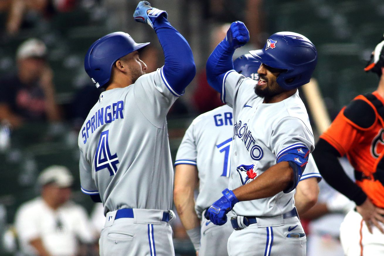 MLB: Game Two-Toronto Blue Jays at Baltimore Orioles