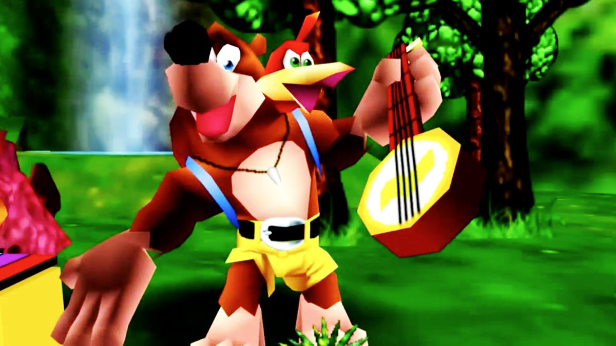 Banjo Kazooie v. Mario 64