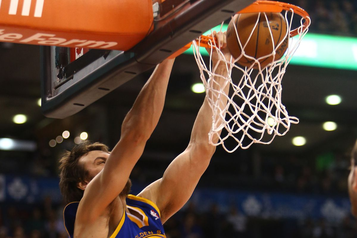 Curry's ankle acted up again but Bogut's return stole the show.