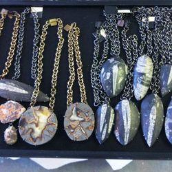 Necklaces, $125